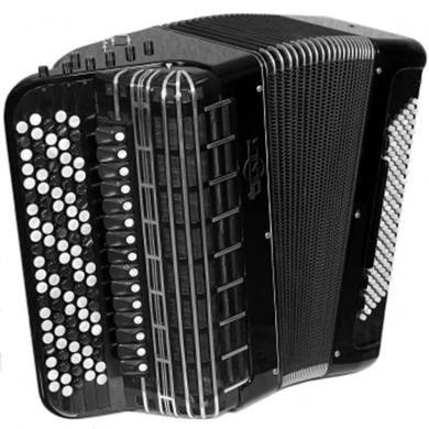 Brand New, Russian, Concert, Professional Bayan MIR, Converter Free Bass & Stradella, Chromatic Button Accordion, High-class Musical Instrument, Tula, 5 Rows, 120 Bass, Solid Metal Treble and Bass Reeds, BN-2