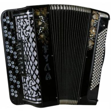 Brand New Tula / Тула, 120 Bass, 7 Registers, Russian Button Accordion Bayan, BN-10-2