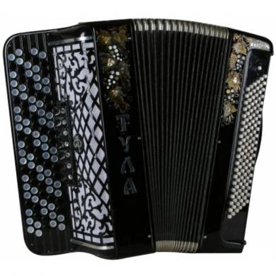 Brand New Tula / Тула, 120 Bass, 7 Registers, 5 Rows, Russian Button Accordion Bayan, BN-10
