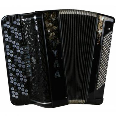 Brand New Tula / Тула with Converter Bass System, Free Bass & Stradella, 120 Bass, 7 Registers, 5 Rows, Russian Button Accordion Bayan, BN-11