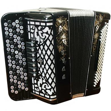 Brand New Tula / Тула, 100 Bass with Converter Bass System, 7 Registers, Russian Button Accordion Bayan, BN-13