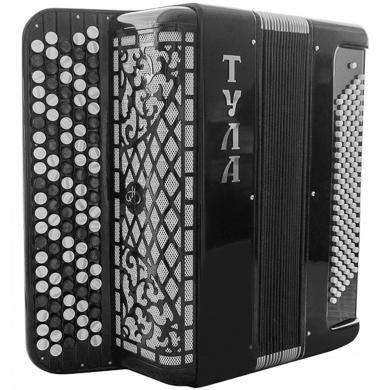 Brand New Concert 5 Rows Bayan Tula with Solid Treble and Bass Reeds, Great Russian Chromatic Button Accordion, High-Class Musical Instrument, 5 Row 120 Bass Stradella B-system, BN-19