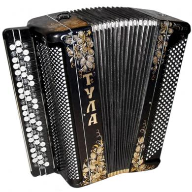 Brand New Tula / Тула, 120 Bass, Russian Button Accordion Bayan, BN-22