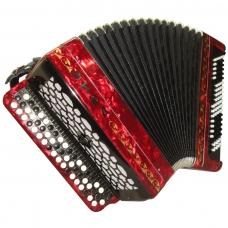 Brand New Etyud 205-M2 / Этюд 205-M2, 100 Bass, Russian Button Accordion Bayan, BN-40