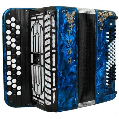 Brand New Lightweight Tula Bayan Russian Button Accordion Perfect for Beginners Children Kids 80 Bass BN 41 Beautiful and Powerful Sound! incl. Straps, Case.
