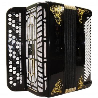 Brand New Bayan Tula 210 Converter Free Bass Stradella Russian Chromatic Button Accordion, High Class Musical Instrument, 120 Bass, BN-53 Very Beautiful and Powerful sound!
