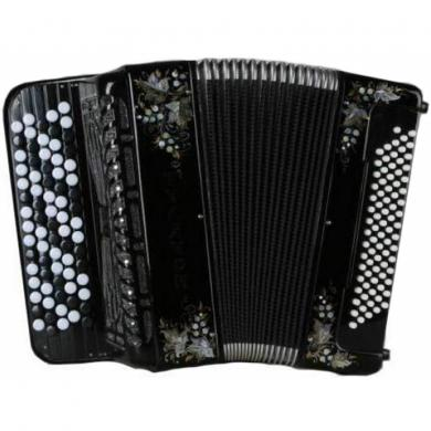 Brand New Tulyachok / Тулячок with Converter Bass System, 80 Bass, Russian Button Accordion Bayan, BN-55