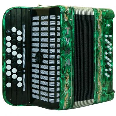 Brand NEW Russian Chromatic Button Accordion, Bayan, for Children or Beginner, Tula, 3 Rows, 30 Bass, Light Weight, Free Bass, BN-56