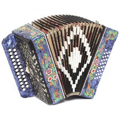 Brand New Harmonica Shuyskaya Russian Garmon Zakaznaya / Заказная, 25x25, 2 Registers, Button Accordion, С41XL