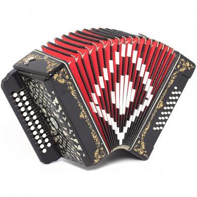 Brand New Harmonica Shuyskaya Russian Garmon Barynya Zakaznaya / Барыня Заказная, 25x25, Button Accordion, С44XL