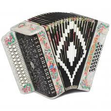 Brand New Harmonica Shuyskaya Russian Garmon Barynya / Барыня, 25x25, Button Accordion, С44XL