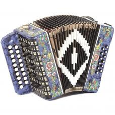 Brand New Harmonica Shuyskaya Russian Garmon Chayka / Чайка, 19x12, Button Accordion, С48XL