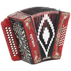 Brand New Harmonica Shuyskaya / Шуйская Russian Garmon, 25x25, Button Accordion, С51X