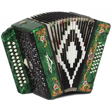 Brand New Harmonica Shuyskaya Russian Garmon Chayka-314 / Чайка-314, 25x25, 2 Registers, Button Accordion, С5X