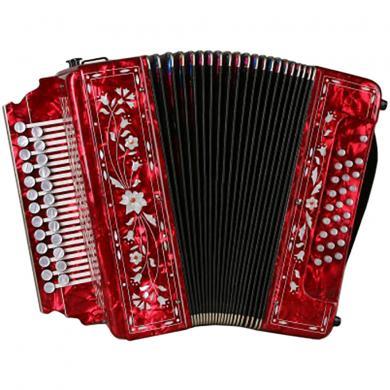 Brand New Harmonica Tul'skaya Russian Garmon Zakaznaya / Заказная, 2 Registers, Buton Accordion, G-10