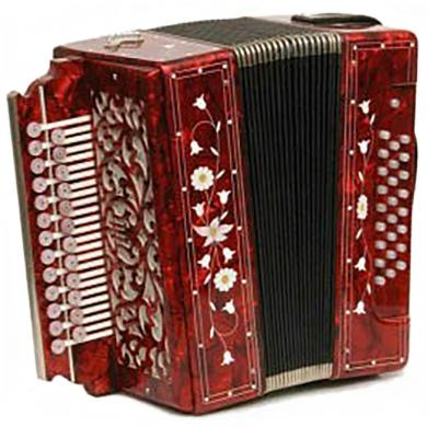 Brand New Harmonica Tul'skaya Russian Garmon Zakaznaya / Заказная, Buton Accordion, G-17