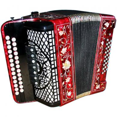 Brand New Harmonica Tul'skaya Russian Garmon Zakaznaya / Заказная, 7 Registers, Buton Accordion, G-19