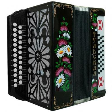 Brand New Harmonica Tula Russian Garmon Tul'skaya-301, Buton Accordion, G-21