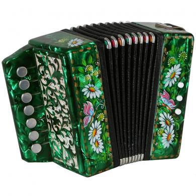 Brand New Harmonica Tul'skaya Russian Garmon Кроха / Krokha, Buton Accordion, GN-25