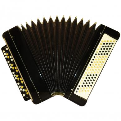 Tul'skiy / Тульский, 100 Bass, Russian Button Accordion Bayan, 461