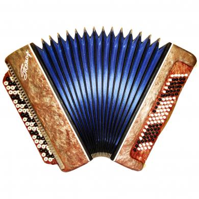 Russian Button Accordion Bayan Tenor / Тенор, 100 Bass, 463