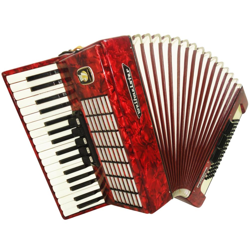 Weltmeister Stella, Piano Accordion, 80 Bass 5/3 Registers
