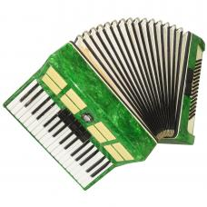 Excellent Accordion Siberia, made in Russia, 80 Bass, Very Beautiful sound, 1067, Folk Russian Accordian.