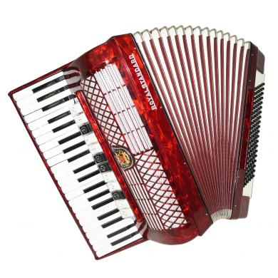 Royal Standard, 120 Bass, Nice Piano Accordion, made in Germany, New Straps 1113, Very Rich and Quality Sound.