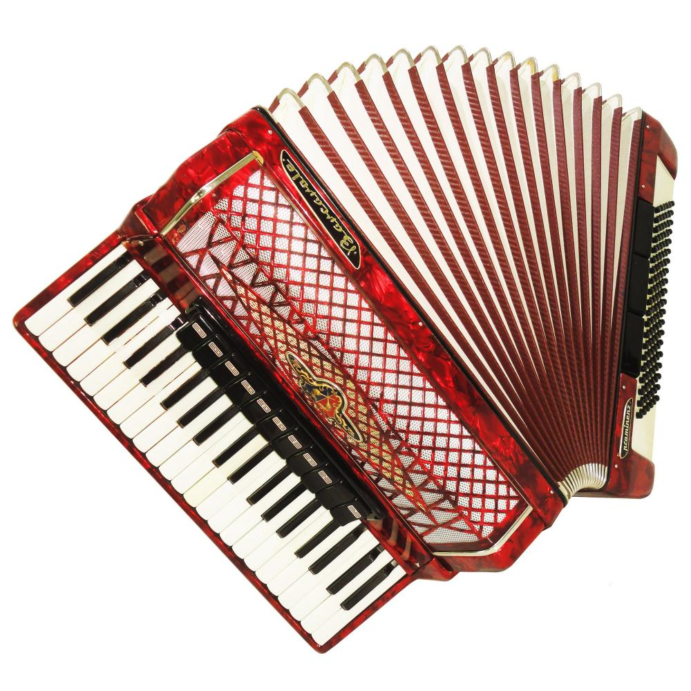 Barcarole Prominenz, Concert Piano Accordion, 120 Bass, made in ...