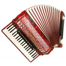Barcarole Prominenz, Concert Piano Accordion, 120 Bass, made in Germany, 1116, Amazing sound, High Quality Accordian, New Straps.