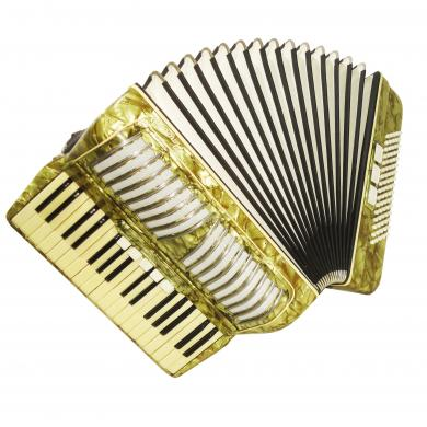 Spranger Amoretta, Piano Accordion, 80 Bass, 8 Registers, made in Germany, 1130, Very Beautiful sound.