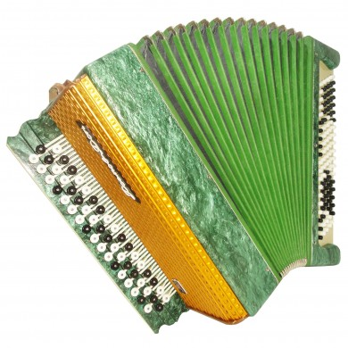 Rostov Don, Bayan, Nice Folk Russian Chromatic Button Accordion, 100 Bass, 1133, Very Beautiful sound.
