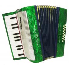 Russian Piano Accordion Malysh, 14 Bass, For Beginner and Children, Case, 1135, Very Beautiful sound.