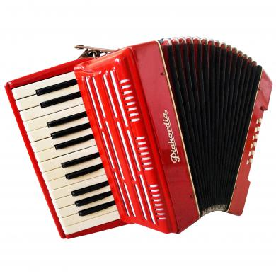 Piakordia, German Piano Accordion For Beginner / Children, 12 Bass, Light, 1142, Rare Light Weight Accordian For Sale.