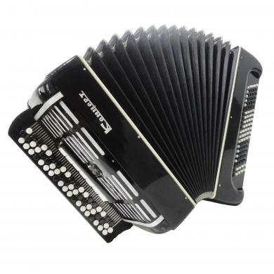 Rare Bayan Concert, Double Cassotto, Russian Button Accordion Poweful Sound 1298, Great Chromatic Accordian.