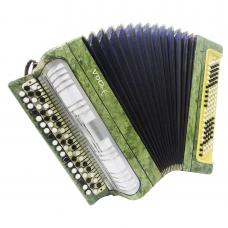 Bayan Etude, Cheap Button Accordion, made in Russia, Tula, B System, Used, 1200, Very Beautiful sound!
