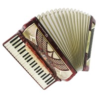 Full Size Barcarole Piano Accordion 120 Bass made in Germany, Amazing sound 1409, High Quality Accordian.