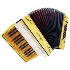 Mozart German Piano Accordion, Light Weight for Beginner Children, 32 Bass, 1170, Vintage musical instrument, Wonderful sound.