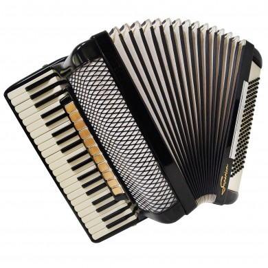 Horch Superior, made in Germany, Luxury Piano Accordion 120 Bass New Straps 1325, Gorgeous, amazing sound!