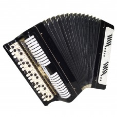 Folk Bayan Etude, Chromatic Button Accordion, made in Russia Tula, 100 bass 1441, B System, Rich and Quality sound!