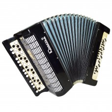 Converter: Free Bass Stradella Button Accordion, Bayan, Tula, 80 Bass, Case 1363, Yunost 2 Perfect for Beginners or Children