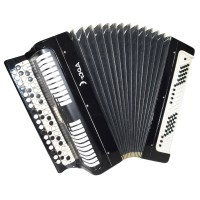 Folk Bayan Etude, Chromatic Button Accordion, made in Tula Russia, 100 bass 1461, B System, Rich and Quality sound!