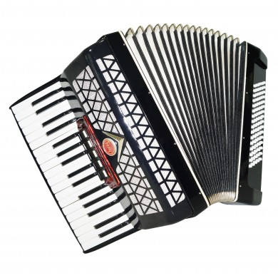Very Nice Cheap Russian Accordion Berozka 80 Bass Folk Accordian incl. Case 1430, Musical Instrument, Excellent sound.