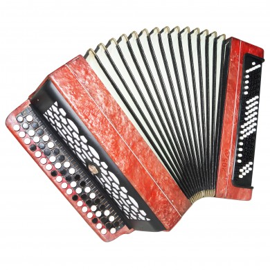 Bayan Tula 205M, Russian Chromatic Button Accordion, Tulskiy 3 Row 100 Bass 1348, Bright and Quality sound!
