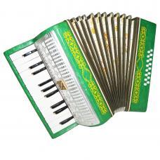 Almost Unused Russian Piano Accordion Malysh, Lightweight For Children Case 1265, Very Beautiful sound.