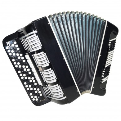 4 Row Converter Free Bass Stradella Double Cassotto Bayan Button Accordion 1327, New Straps, Poweful Sound!