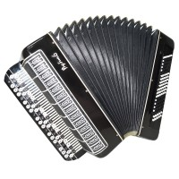 Converter Bayan Rubin 6, Free Bass & Stradella, Button Accordion, 120 Bass, 1349, New Straps, Russian Chromatic Accordian, Amazing sound.