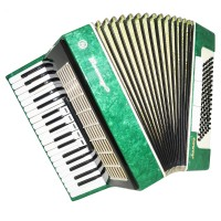 Rare Piano Accordion Akkord Altair, 96 Bass, 8 Registers, made in Russia, 1345, Excellent sound!