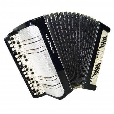 Close to NEW! Folk Russian Button Accordion, Bayan Kungur, 100 Bass, Case, 1323, B System, Button Box Accordian, Excellent sound!
