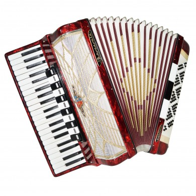 Barcarole Prominenz, Concert Piano Accordion, 120 Bass, made in Germany, 1322, Amazing sound, High Quality Accordian.